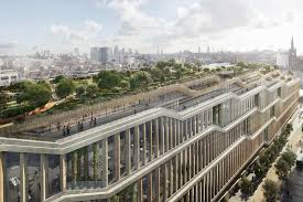 revealed google u0027s plan for vast new london hq with pool running