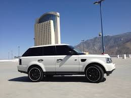 land rover sport custom my range rover sport on 22 u0027s almost finished