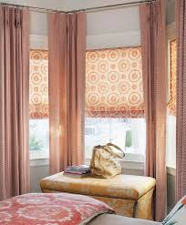 Window Curtains Ideas Bay Window Curtain Ideas Give Your Bay Window A Glamorous Look