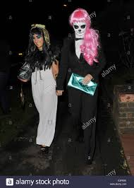 jonathan ross hosts his annual halloween party at his home in