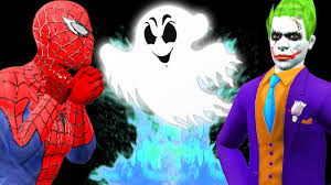 frozen family halloween costumes joker becomes ghost attack frozen elsa spiderman monster truck