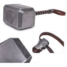 mjolnir genuine marvel thor movie hammer replica prop costume