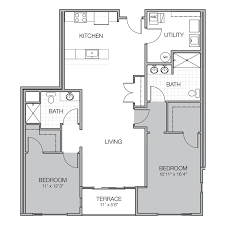 what is wh in floor plan apartment floor plan ee mosaic on oakland luxury apartments