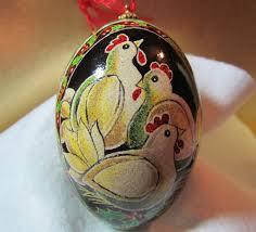 decorated goose eggs egg pysanka ukrainian easter egg batik decorated goose egg three