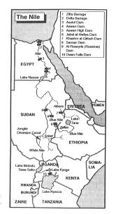 Nile River On Map Nile River Valley Definition Popular River 2017