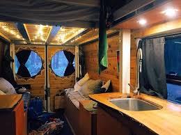 Camper Van Interior Lights 204 Best Camper Van Images On Pinterest Van Life Van Living And