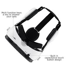 amazon com daway 360vr virtual reality box with stereo headset 3d