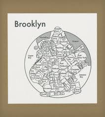 Circle Map Brooklyn Circle Map Print Art Prints U0026 Posters Archie U0027s Press