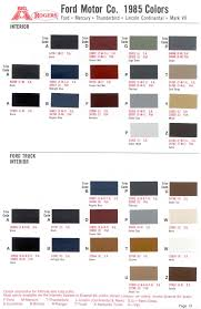 ford mustang interior color codes brokeasshome com