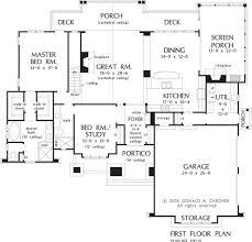 1st Floor Master House Plans 31 Best 5 Bedroom House Plans Images On Pinterest House Floor