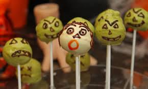 matcha halloween zombie cake pops recipe russtea u0027s