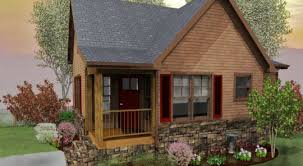 Two Bedroom Cabin Floor Plans Tiny House Kits 2 Simple Cottage House Plan Chp At Plan Id Chp