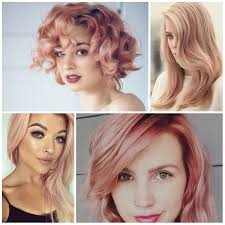 trend colors instagram rose gold hair color ideas for 2017 new hair color