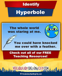 hyperbole vocabularyspellingcity