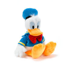 donald duck medium soft toy