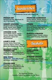 sport u0027s bar dining menu u2014 louie u0027s backyard