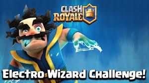 clash royale electro wizard challenge 12 win dan dapet 2