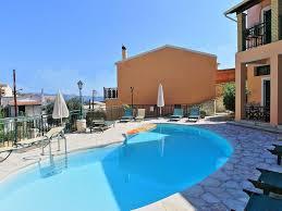 kaminaki villas nikos house with pool next to the beach of