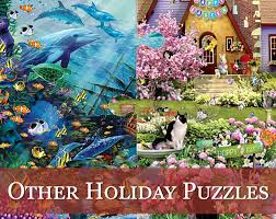 halloween jigsaw puzzles american made holiday jigsaw puzzles traditions