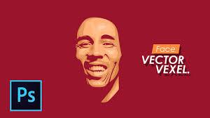 tutorial efek vektor di photoshop how to design simple vector vexel tutorial photoshop bahasa