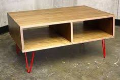 Plywood Coffee Table I Like This But Would Paint Some Of It Or Use Different Faced
