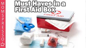 10 things you must have in a first aid box parenting tips youtube