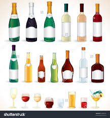 alcohol vector drinking clipart alcohol bottle pencil and in color drinking