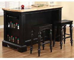 Kitchen Island Black Granite Top Pennfield Kitchen Island Island With Stools