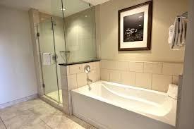 bathroom bathroom with separate shower and bathtub style on