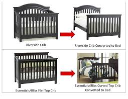 Crib Converts To Bed Solid Wood Size Conversion Kit Bed Rails For