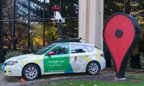 google images car what happens when a google street view car meets a bing car on the