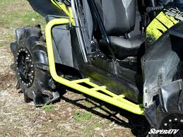 nerf car super atv polaris rzr xp 900 heavy duty rock sliding nerf bars