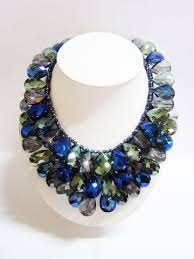 blue fashion necklace images Necklace collection thai fashion jewelry JPG