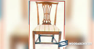 Chippendale Chair by Chippendale Chair Plans Woodarchivist