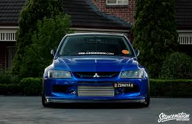 mitsubishi evo custom epitome of modification michael zomaya u0027s widebody evo