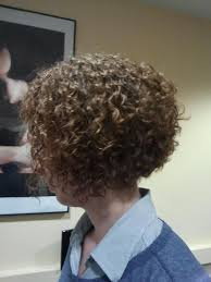 high nape permed haircut 43 best permed hair images on pinterest hairstyles bobs and