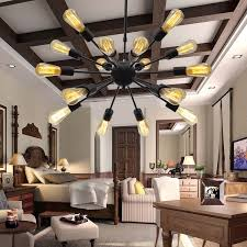 Living Room Lights by Unitary Brand Vintage Metal Large Chandelier With 18 Lights