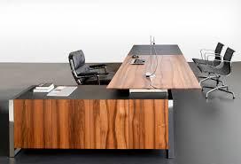 Chef Schreibtisch Chefschreibtisch Massivholz Metall Leder Ixo Mobimex