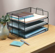Stackable Desk Organizer Stacking Trays Archives Ask Our Organizerask Our Organizer