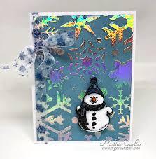 Deco Foil Deco Foil Snowman Card U2013 Brutus Monroe