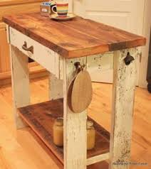 repurposed kitchen island ideas rustic pallet kitchen island cart with adjustable shelf and wheels