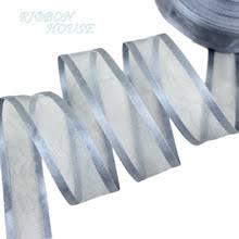 organza ribbon wholesale popular silver organza ribbon buy cheap silver organza ribbon lots