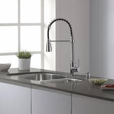 faucet kitchen kraus pull single handle kitchen faucet reviews wayfair