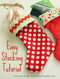 Christmas Stocking Decorations 22 Different Things To Sew For Christmas This Year