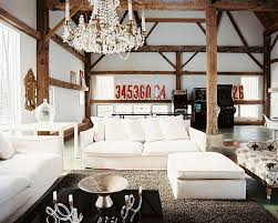 White Ottoman Coffee Table - designs ideas country rustic living room with white sofa and