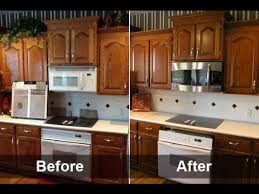 kitchen cabinets diy painting youtube refinish cabinet refacing
