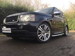 black land rover range rover used black land rover range rover sport for sale middlesex