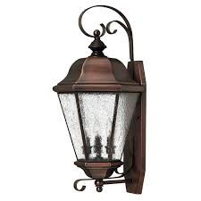 Copper Wall Sconce Buy The Clifton Beach Large Outdoor Wall Sconce