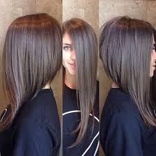 long inverted bob hairstyle with bangs photos long inverted bob with bangs google search hair styles