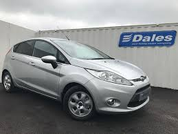 ford fiesta titanium eco ic silver 2012 in redruth cornwall